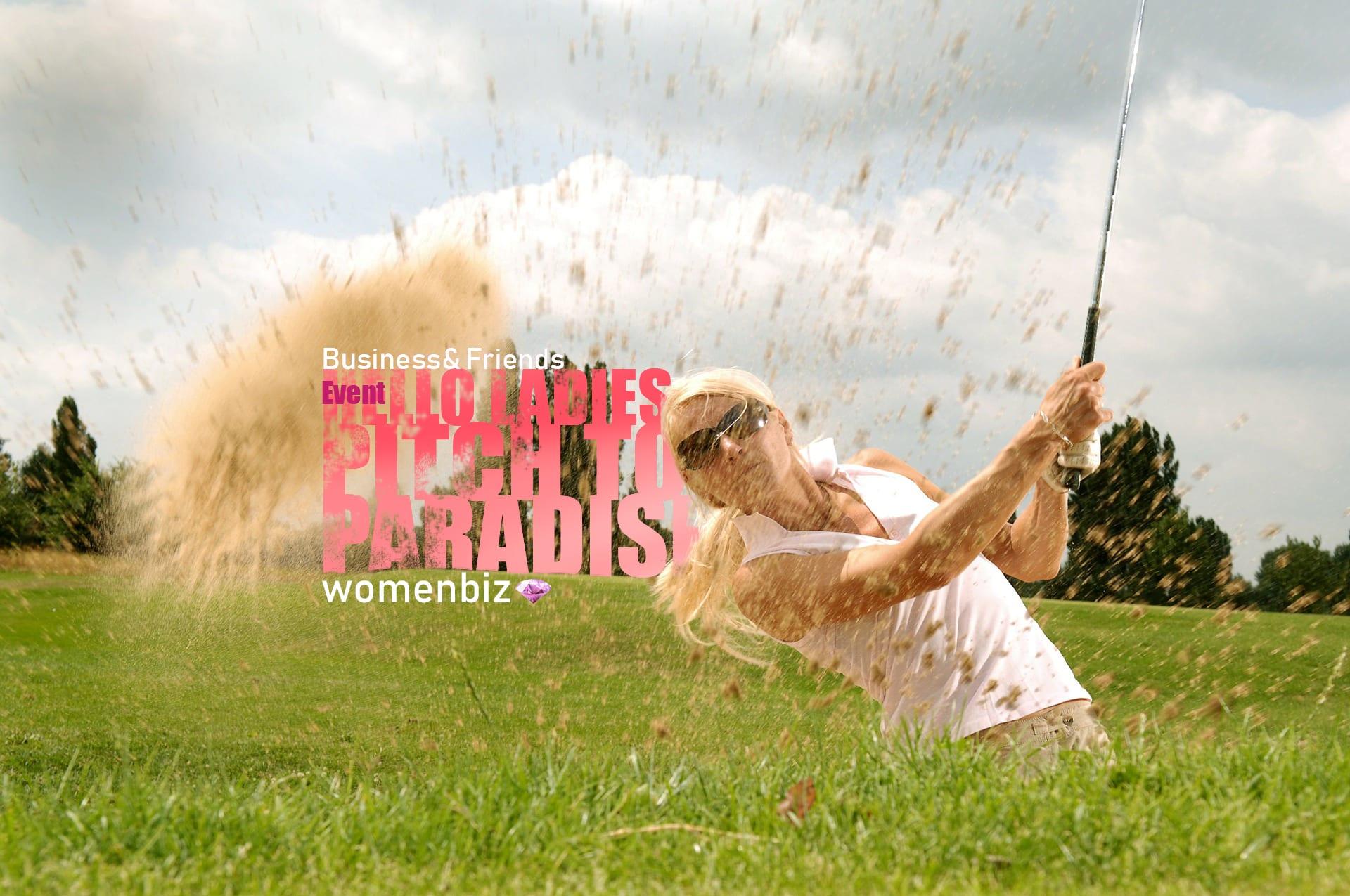 Frau - Golferin