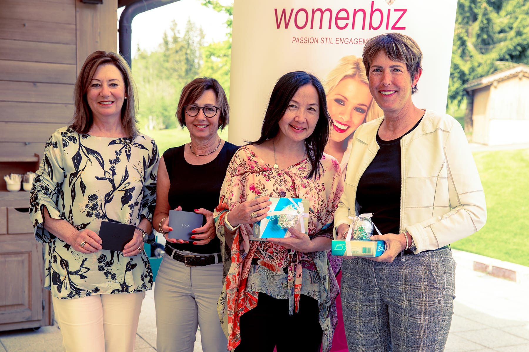 1. womenbiz Business & Friends Event ein Gstaad- Saaneland