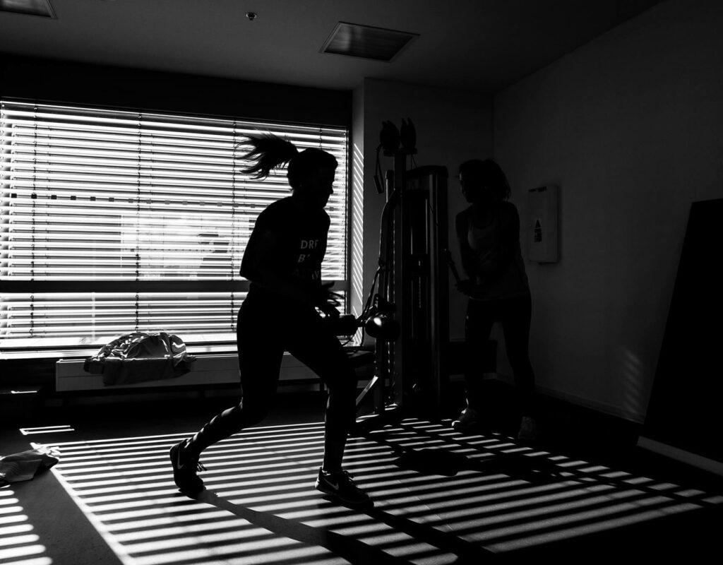Physische Aktivität im Home-Office
