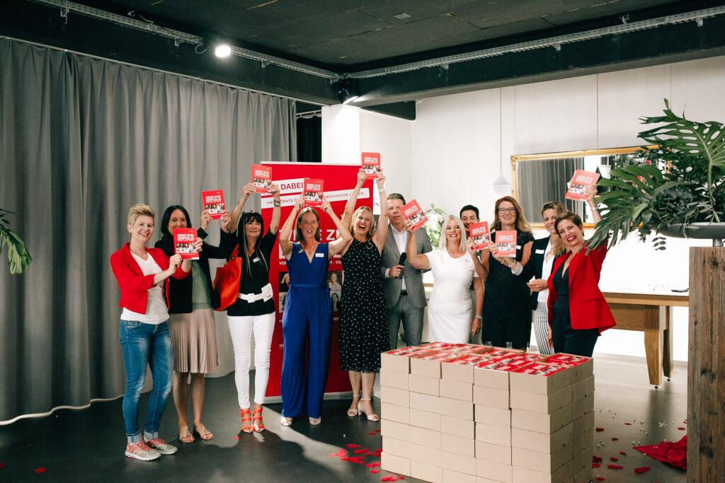 """Co-Autorinnen Buch """"Wege zum Erfolg"""" Kick-Off-Event 17.09.2020"""